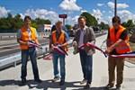 Brücke Tessiner Straße wieder frei