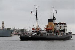 """Dampfeisbrecher """"Stettin"""" während der Hanse Sail in Rostock-Warnemünde (Foto: Archiv)"""