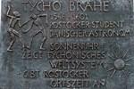Tycho-Brahe-Bronzetafel gestohlen