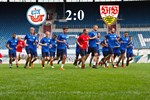 Hansa Rostock wirft Stuttgart aus dem DFB-Pokal