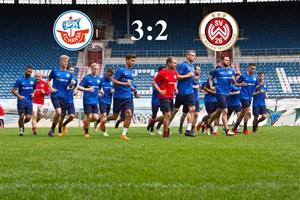 Hansa Rostock besiegt Wehen Wiesbaden mit 3:2 (Foto: Archiv)