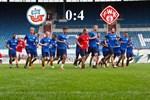 Hansa Rostock unterliegt den Würzburger Kickers