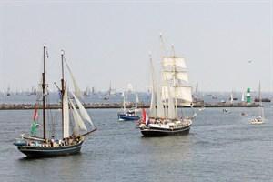 Hanse Sail Rostock vom 9. bis 12. August 2018 (Foto: Archiv)