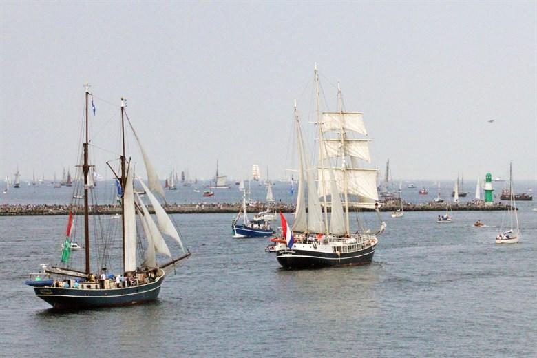 Hanse Sail 2018 - Schiffe, Land- und Bühnenprogramm