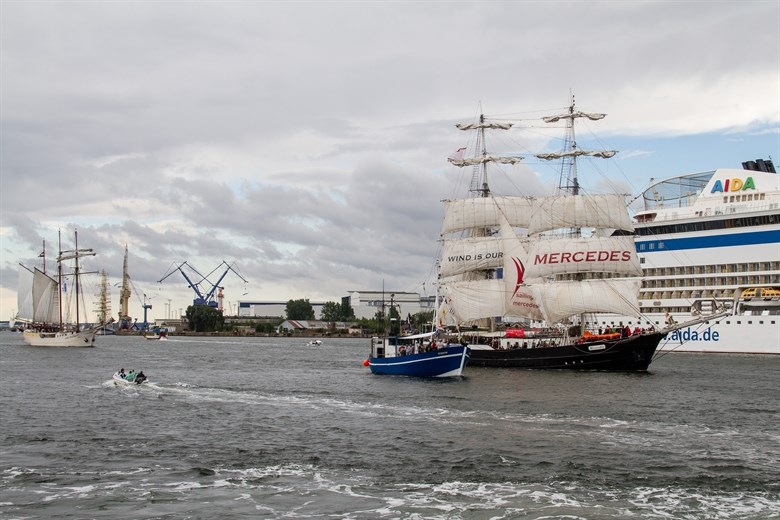 Trotz Wetterkapriolen: Erfolgreiche 28. Hanse Sail Rostock