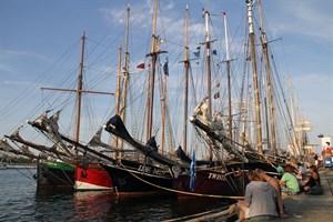 Hanse Sail Rostock wird am Freitag bis 16 Uhr unterbrochen (Foto: Archiv)