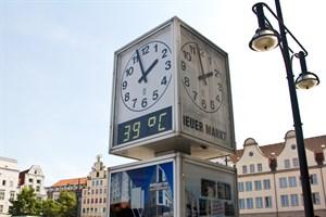 Anhaltende Temperaturen über 30°C: Jetzt soll ein Hitzeplan für Rostock erarbeitet werden. (Foto: Archiv)