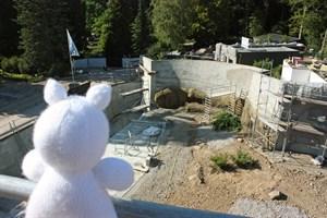 Noch ist es eine Baustelle, am 22. September soll sas Polarium im Zoo Rostock eröffnen (Foto: Carina Braun/Zoo Rostock)
