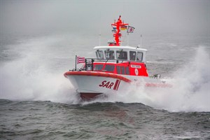 Das 10,1-Meter-Seenotrettungsboot FRITZ THIEME ist seit wenigen Monaten von Wangerooge aus im Einsatz. Von diesem bewährten Bootstyp haben die Seenotretter ebenfalls zwei weitere Rettungseinheiten bestellt (Foto: DGzRS Die Seenotretter, Martin Stoever)