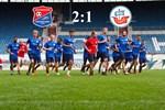 Hansa Rostock unterliegt Unterhaching mit 1:2