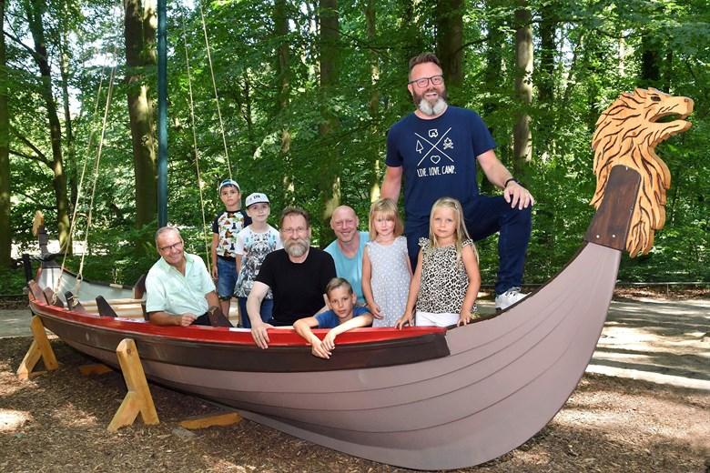 Wikinger Boot Ladt Im Zoo Rostock Zum Picknick Ein Rostock Heute