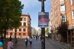 """""""Ausländer raus""""-Plakate in der Innenstadt"""
