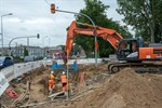 Bauarbeiten in Hamburger Straße verzögern sich