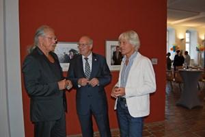 Ehrenbürger-Galerie in der Rathaushalle eingeweiht (Foto: Presse- und Informationsstelle Rostock)