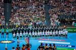 Handball-Länderspiel Deutschland - Polen in der Stadthalle