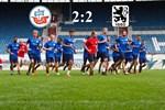 Hansa Rostock und 1860 München trennen sich remis
