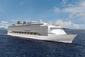 So sollen die Kreuzfahrtschiffe der Global-Klasse aussehen (Visualisierung: MV Werften)