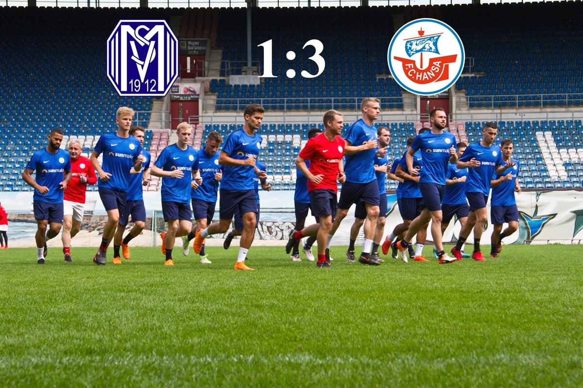 Hansa Rostock besiegt den SV Meppen | Rostock-Heute