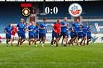 Hansa Rostock und Großaspach trennen sich torlos