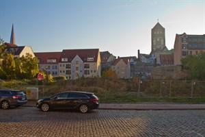 Auf der Brachfläche zwischen Gruben- und Kleiner sowie Großer Wasserstraße soll gebaut werden.