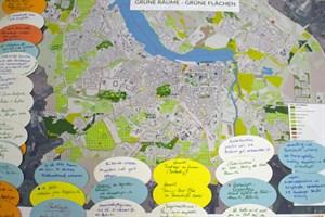 Ein Ergebnis der Bürgerbeteiligung zum neuen Umwelt- und Freiraumkonzept für Rostock