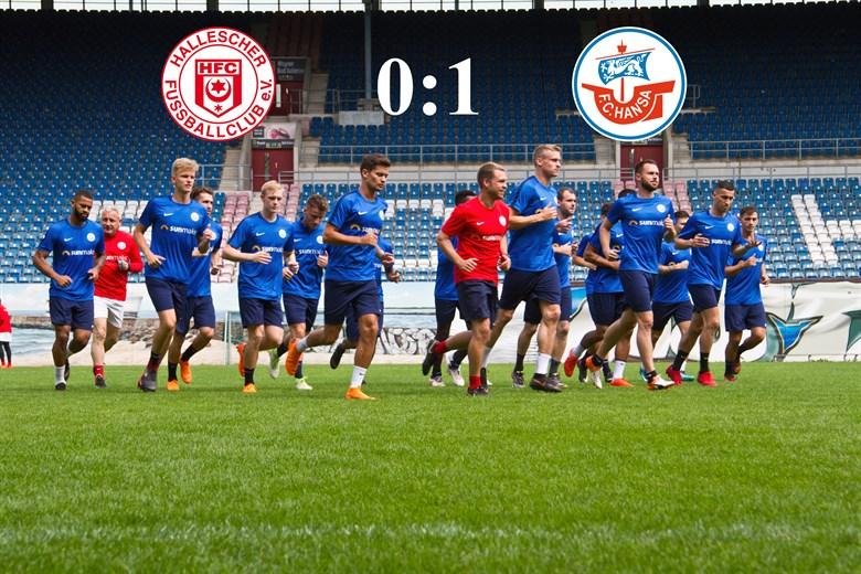 Hansa Rostock gewinnt beim Halleschen FC