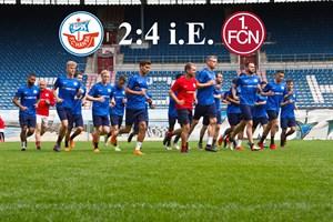 Hansa Rostock unterliegt Nürnberg im Elfmeterschießen (Foto: Archiv)