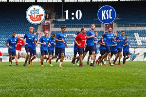 Hansa Rostock besiegt den Karlsruher SC (Foto: Archiv)