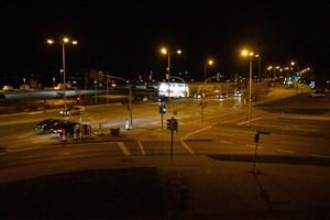 Die Mittelinsel an der Kreuzung Am Strande/Am Kanonsberg wird umgebaut