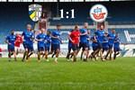 Hansa Rostock und Carl Zeiss Jena trennen sich 1:1