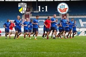 Hansa Rostock und Carl Zeiss Jena trennen sich 1:1 (Foto: Archiv)
