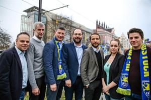 HC Empor Rostock - Vorstand, GmbH-Geschäftsführer & Geschäftsstellenleiterin (Foto: Verein)