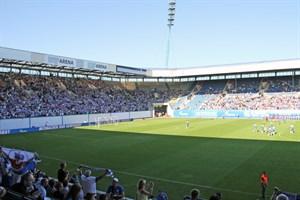 Rammstein statt Fußball: Am 16. Juni 2018 kommt Rammstein ins Ostseestadion Rostock (Foto: Archiv)
