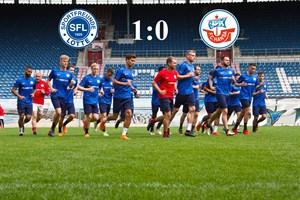 Hansa Rostock unterliegt den Sportfreunden Lotte (Foto: Archiv)