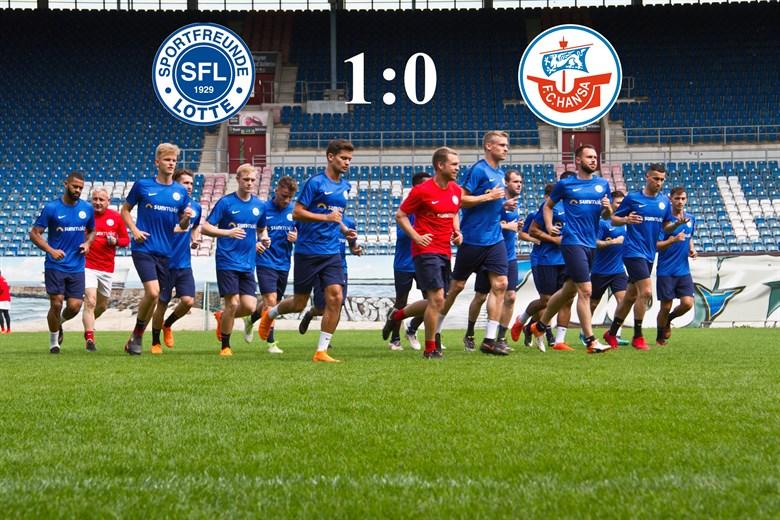 Hansa Rostock unterliegt den Sportfreunden Lotte