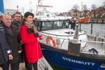 Neues Boot für die Fischereiaufsicht in Warnemünde