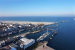 Arbeiten für Sportboothafen am Alten Strom in Warnemünde beginnen
