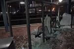 Vandalismus am S-Bahnhaltepunkt Lichtenhagen