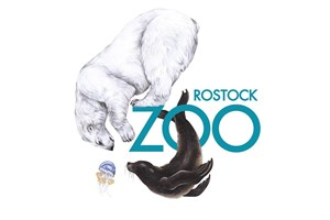 Pünktlich zum Geburtstag präsentiert sich der Zoo mit dem neuen Logo (Quelle: Zoo Rostock)