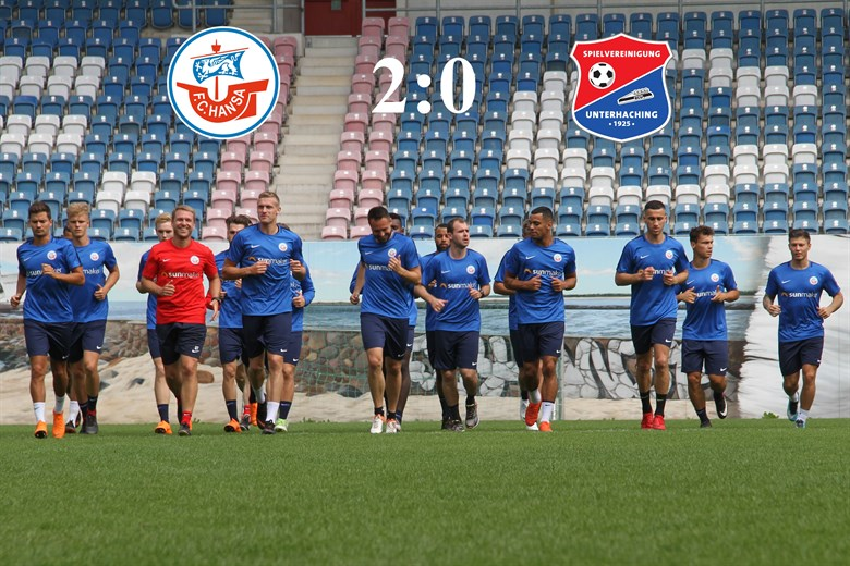 Hansa Rostock besiegt Unterhaching