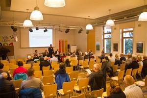Infoveranstaltung zur Klärschlammverbrennungsanlage in Rostock-Bramow