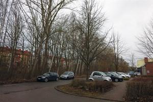 Hier soll der neue Weg von der Walter-Husemann-Straße zur Goerdelerstraße entstehen