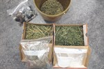 Cannabis und Amphetamine bei Durchsuchungen sichergestellt