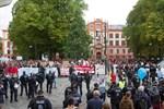 AfD-Demo und Gegenproteste in Reutershagen