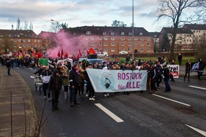 Demo des Bündnisses Rostock nazifrei