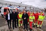 Vier neue Rettungsdienstfahrzeuge für Rostock