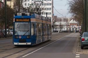 Im Sommer 2020 werden keine Straßenbahnen Richtung Hauptbahnhof fahren.
