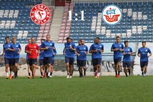 Hansa Rostock und Fortuna Köln trennen sich 1:1 (Foto: Archiv)