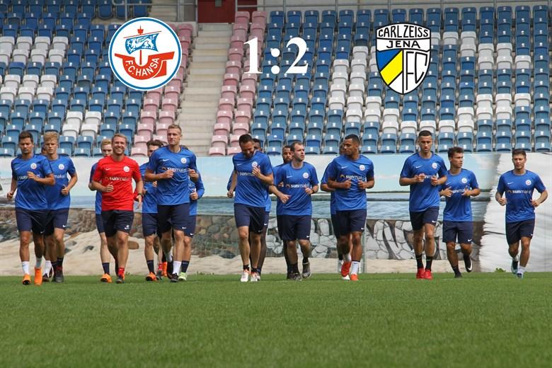 Hansa Rostock unterliegt Carl Zeiss Jena mit 1:2