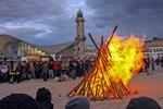 Osterfeuer 2019 in Rostock und Warnemünde